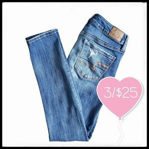 ⭐3/$25⭐ American Eagle Distressed Frayed Jean